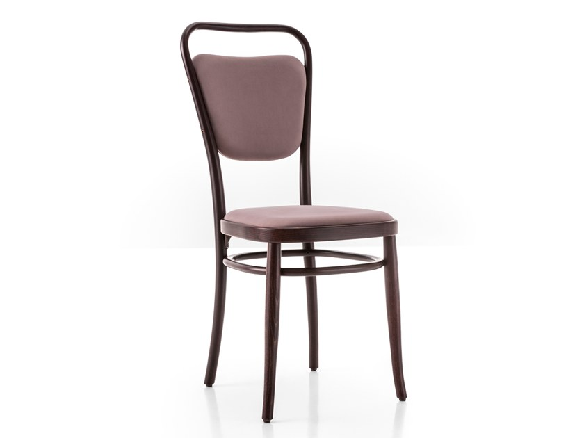 Upholstered beech chair VIENNA 144   Upholstered chair by Wiener GTV Design