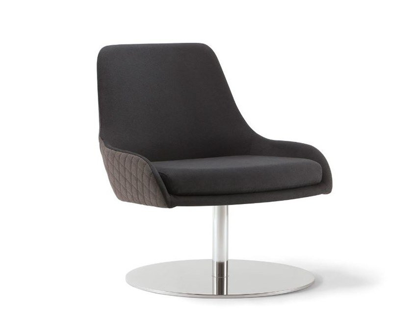 Upholstered fabric easy chair JO | Upholstered easy chair by Tirolo