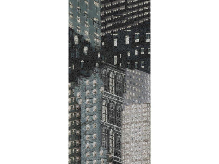 Glass mosaic UPSIDE CITY by Mutaforma