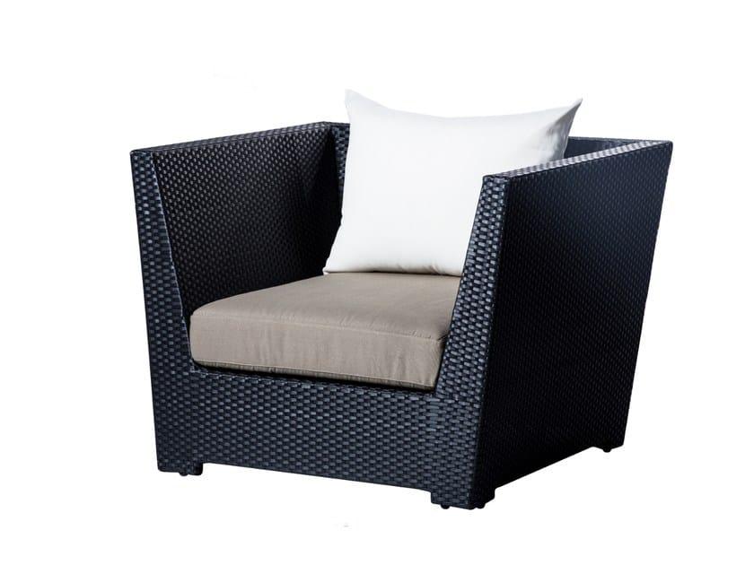 Garden armchair with armrests UPTOWN | Garden armchair by 7OCEANS DESIGNS