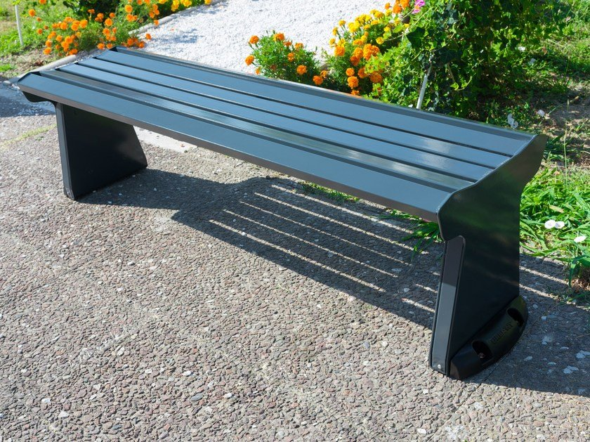 Metal Bench UR 10 - 11 by Arco