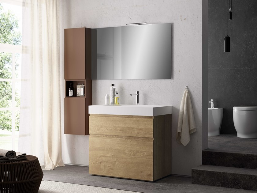 Single vanity unit UR23 | Vanity unit by Mobiltesino