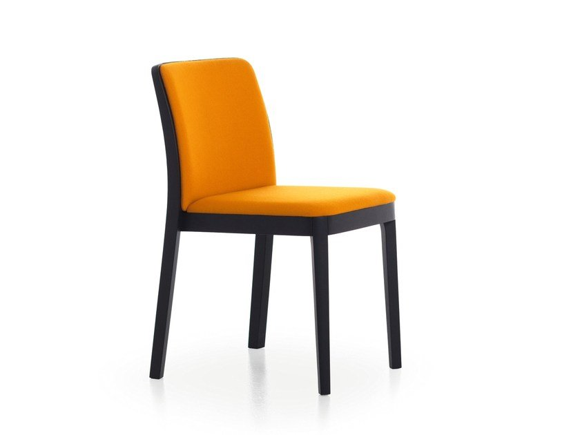 Ash chair with integrated cushion URBAN 01 by Very Wood