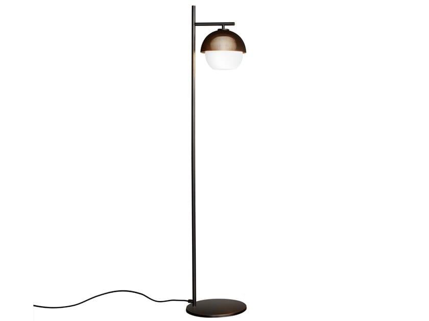Lampada da terra a LED in ottone con dimmer URBAN 1   Lampada da terra by VeniceM