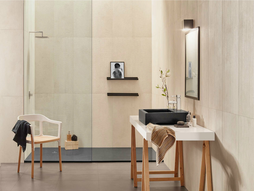 White-paste wall tiles URBAN BEIGE by Love Tiles