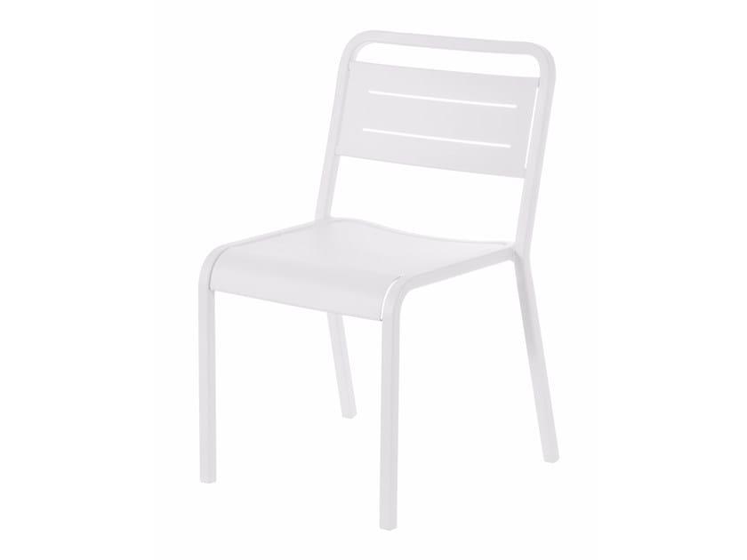 Stackable aluminium garden chair URBAN | Chair by emu