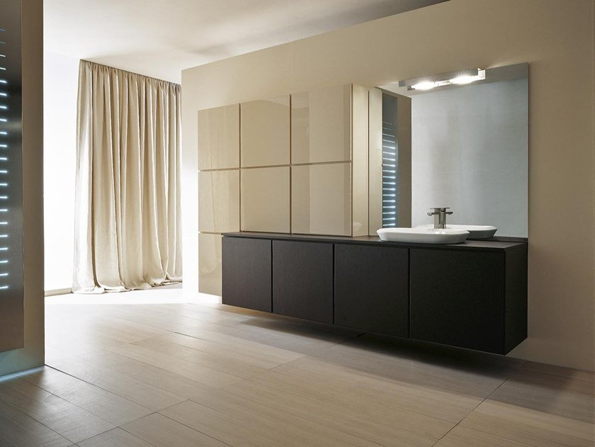 Mobile lavabo sospeso con ante URBAN CHIC 05 by Karol