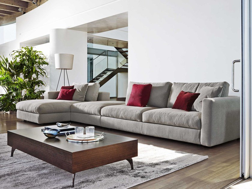 Modular fabric sofa URBAN FASHION by Ditre Italia