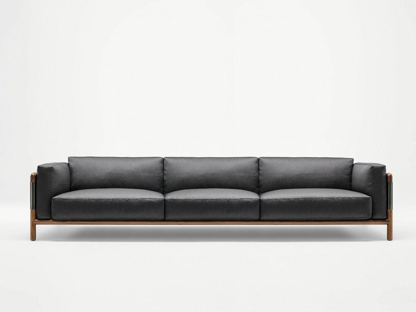 Fabric sofa URBAN | 3 seater sofa by GIORGETTI