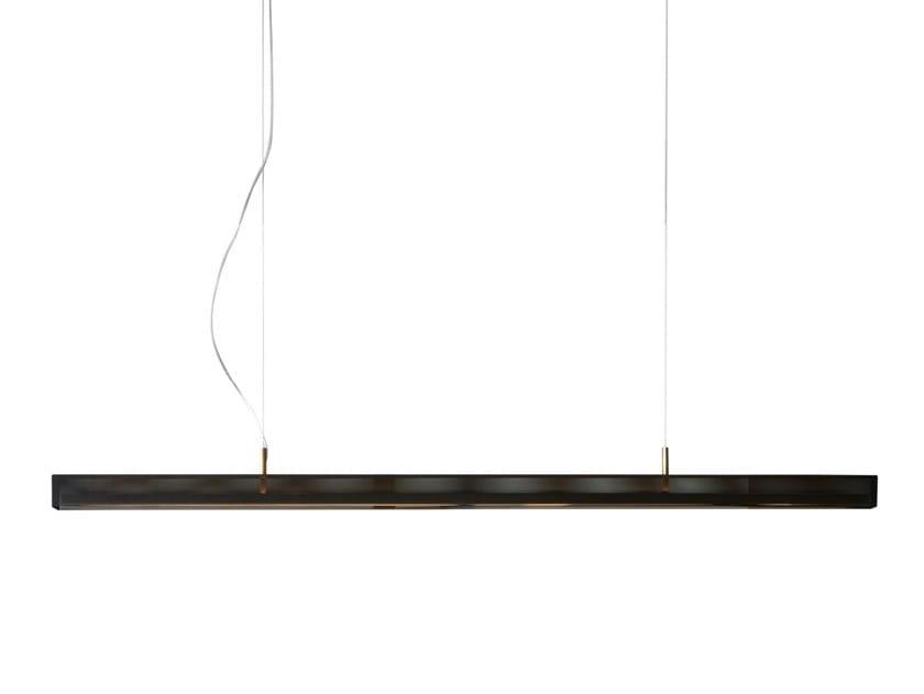 Lampada a sospensione a LED in ottone URBAN LIGHTLINE | Lampada a sospensione by VeniceM