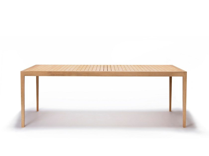 Rectangular teak garden table URBAN | Rectangular table by Feelgood Designs