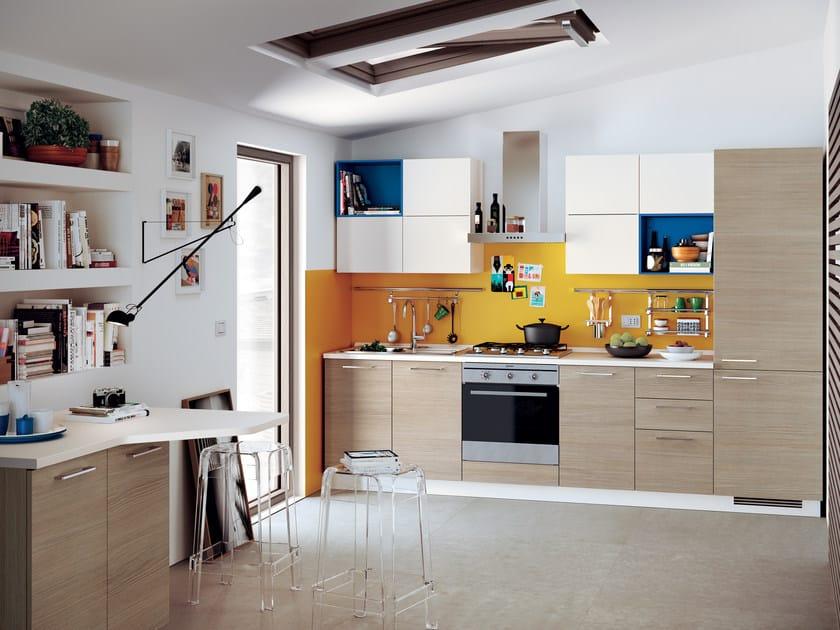 Cucina componibile urban urban minimal linea scavolini - Cucine componibili scavolini prezzi ...