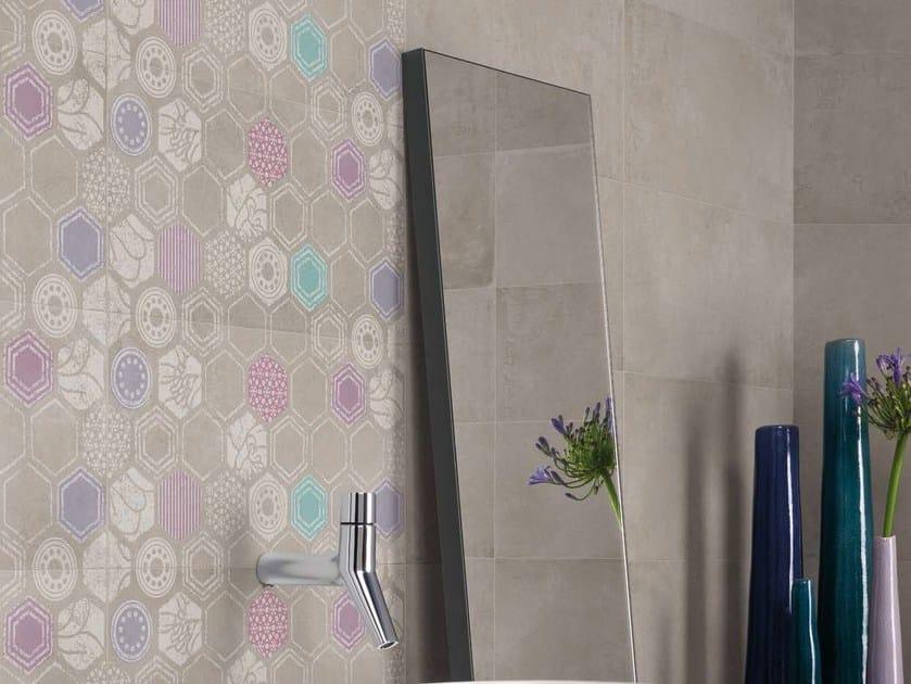 Porcelain stoneware wall/floor tiles URBANATURE DECORS by Panaria Ceramica