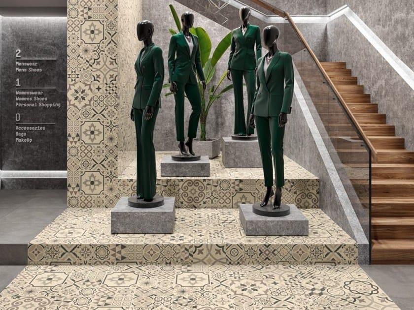 Indoor/outdoor porcelain stoneware wall/floor tiles URBIS by Revigrés