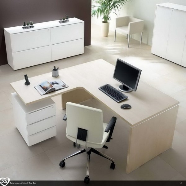 L-shaped office desk US   L-shaped office desk by Castellani.it