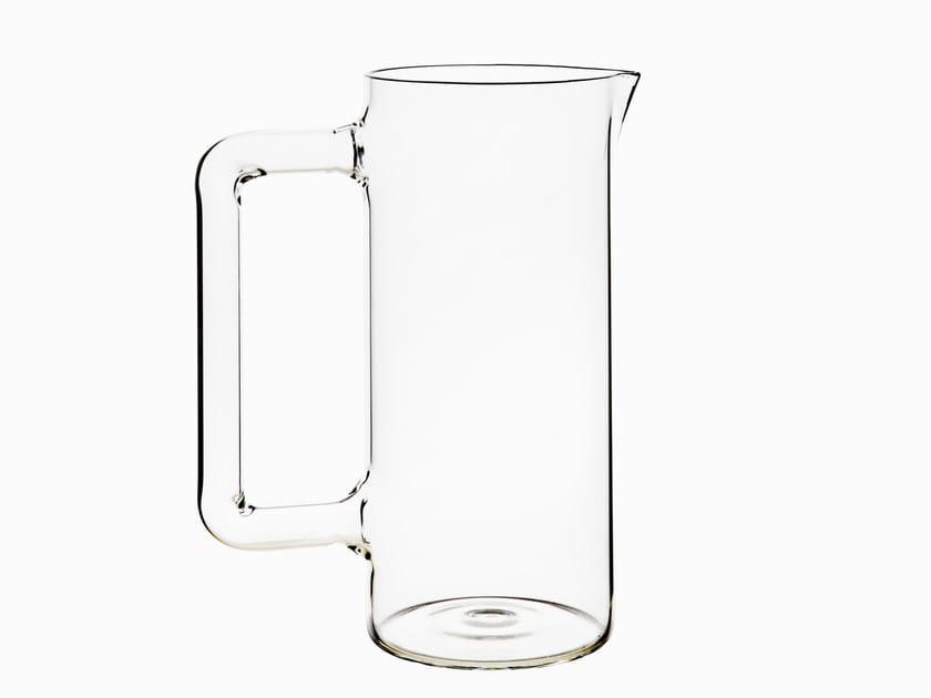 Blown glass jug UTILES | Jug by Secondome Edizioni