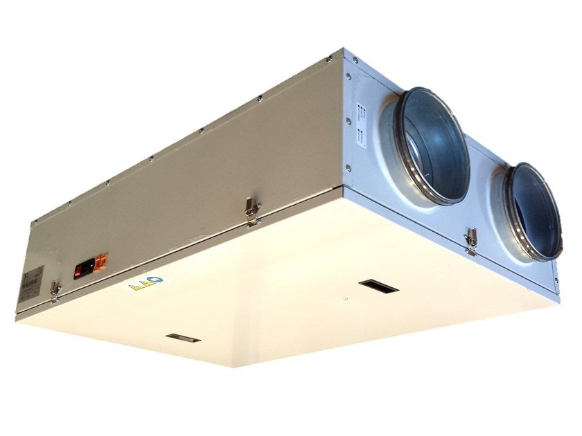 Mechanical forced ventilation system UV3 SOFFITTO by WAVIN ITALIA