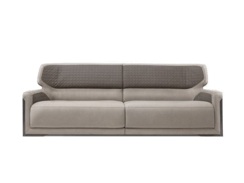 Upholstered 3 seater leather sofa V128 | 3 seater sofa by Aston Martin
