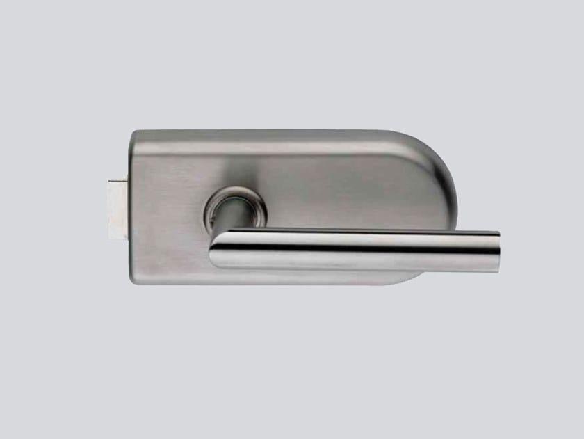 Glass door lock V-200 ECO by Metalglas Bonomi