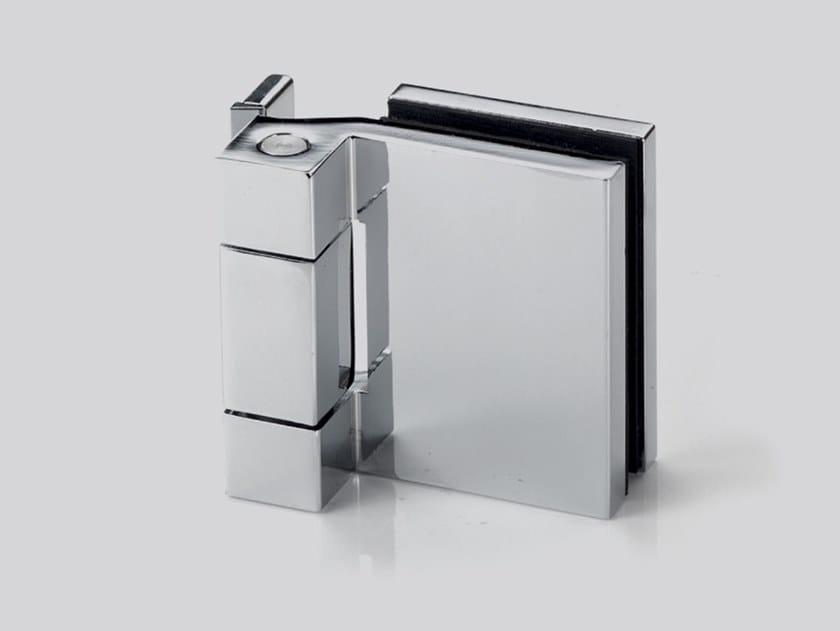 Cerniera per porte in vetro V-701 by Metalglas Bonomi