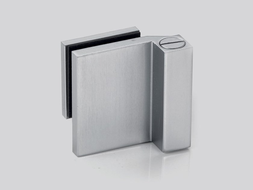 Cerniera per porte in vetro V-704 DX / V-704 SX by Metalglas Bonomi