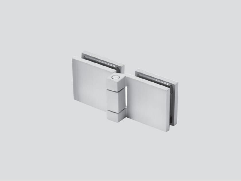 Glass door hinge V-739 by Metalglas Bonomi