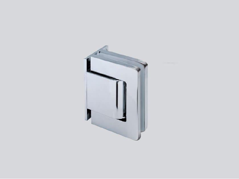 Hydraulic glass door hinge V-808 AS by Metalglas Bonomi