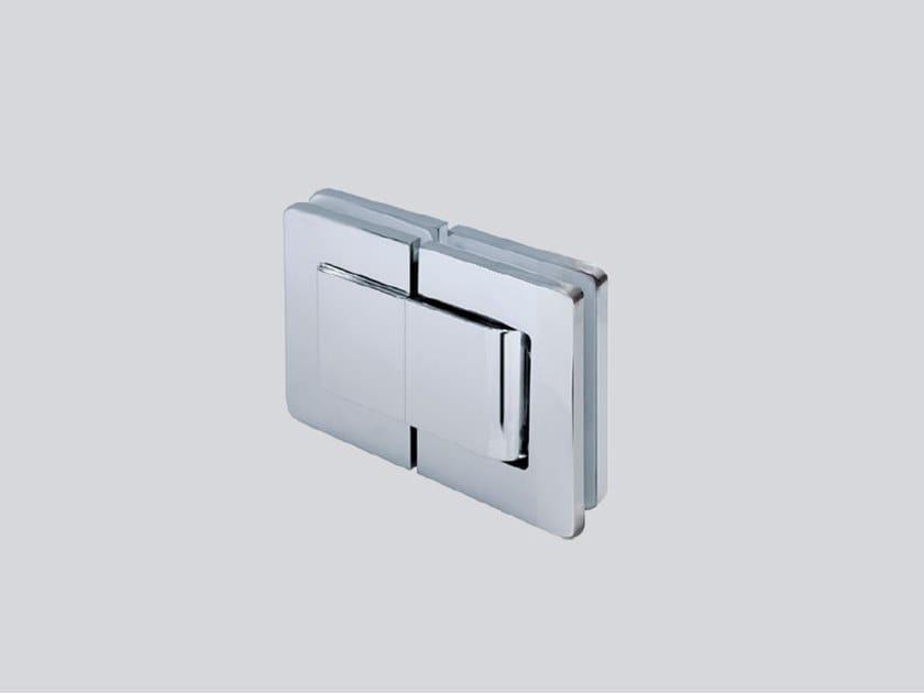 Hydraulic glass door hinge V-816 by Metalglas Bonomi