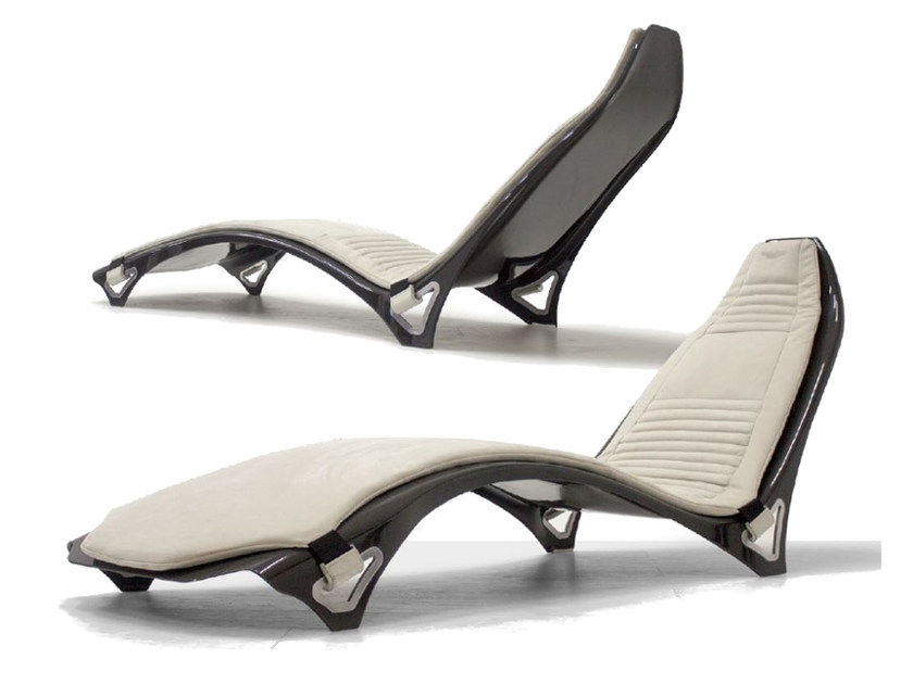 Chaise longue imbottita in pelle V007 | Chaise longue by Aston Martin