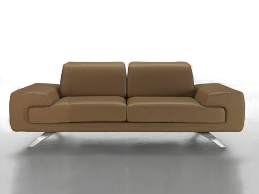 Upholstered 2 seater leather sofa V034 | 2 seater sofa by Aston Martin