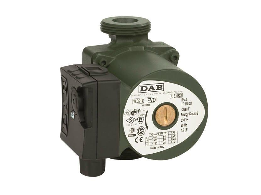 Wet rotor electronic circulators VA-VB-VD by Dab Pumps