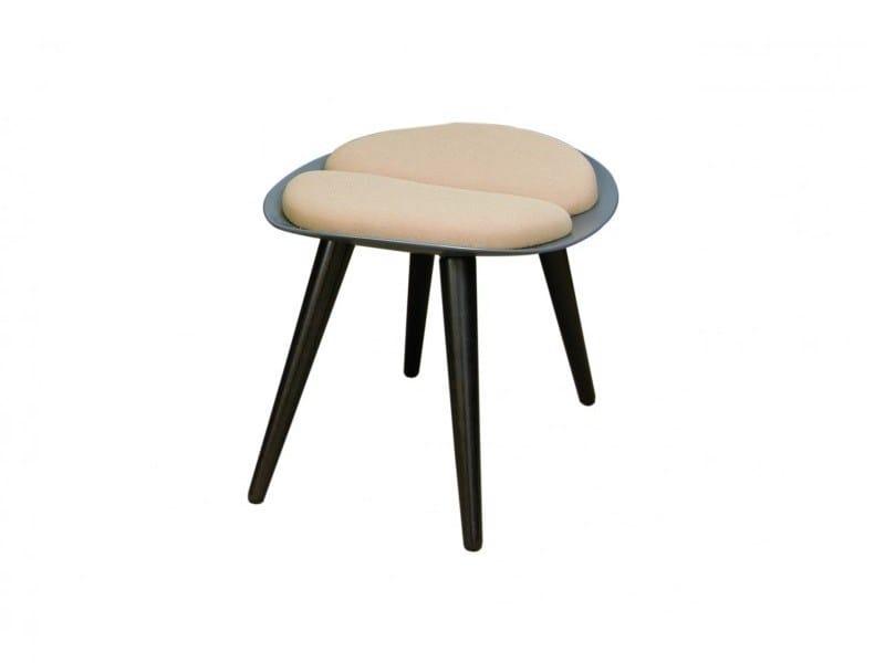 Resin easy chair VADIM OTTOMAN by Hamilton Conte Paris