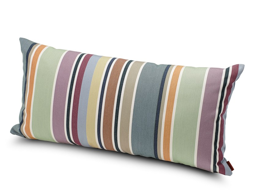 Striped outdoor cushion VALDEMORO | Rectangular cushion by MissoniHome