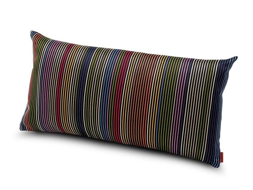 Rectangular Trevira® CS cushion VALDEZ | Cushion by MissoniHome
