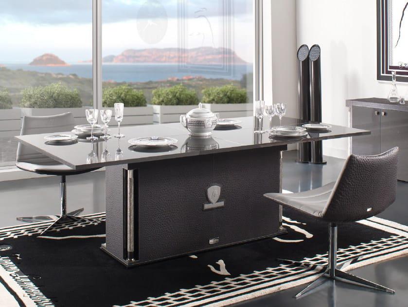 Tavolo da pranzo rettangolare in fibra di carbonio VALENCIA | Tavolo by Tonino Lamborghini Casa