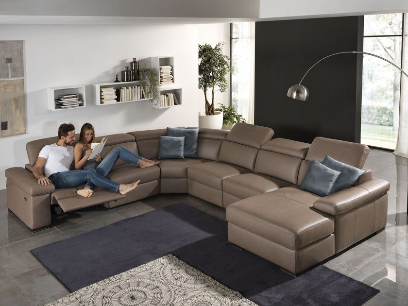 Sectional relaxing sofa VALERIE | Sectional sofa by Egoitaliano
