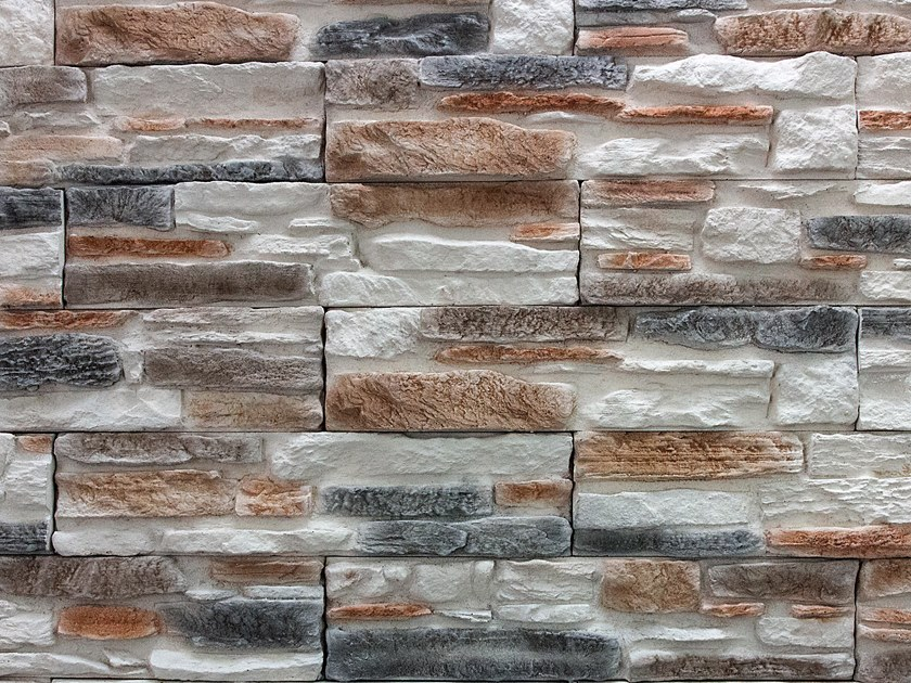 Reconstructed stone wall tiles VALLE LESE by Decor