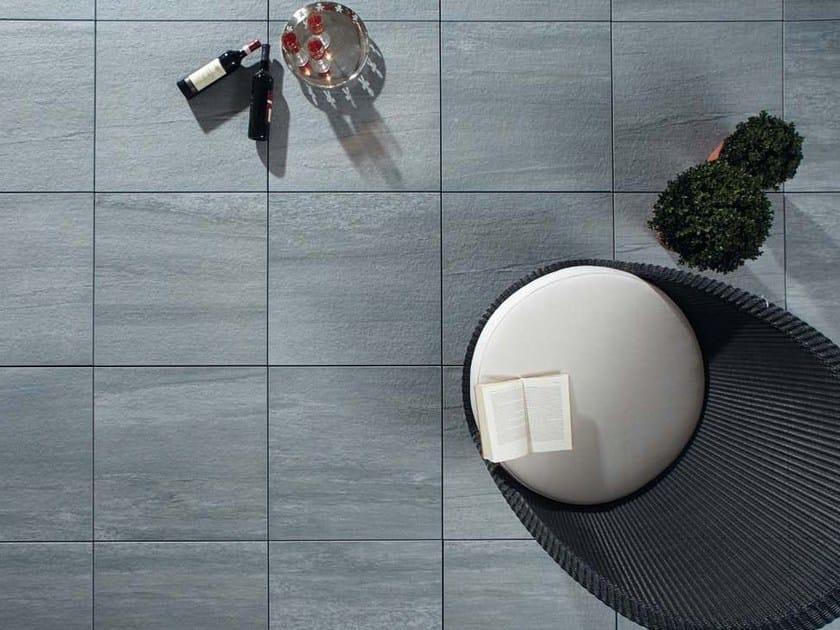 Pavimento per esterni effetto pietra TIPOVALS by GRANULATI ZANDOBBIO