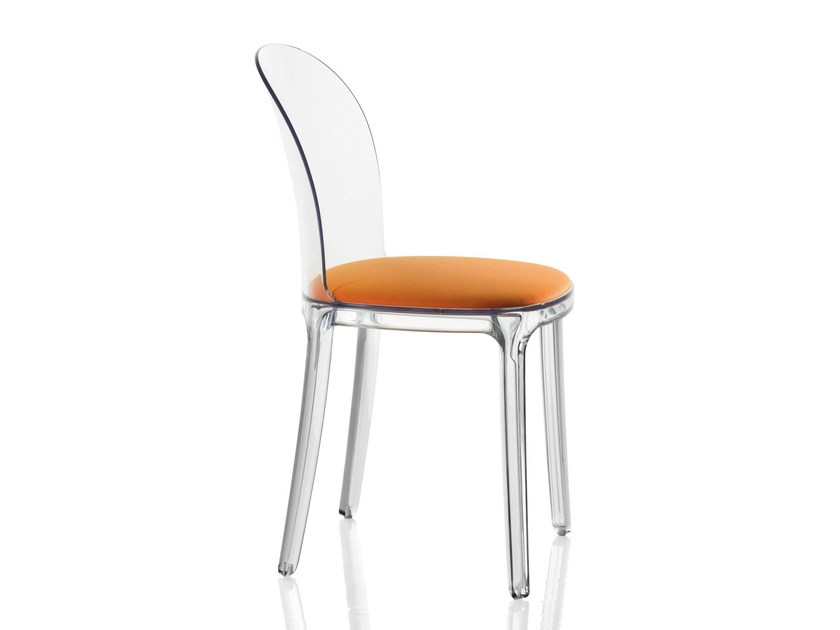 Polycarbonate Chair VANITY CHAIR By Magis