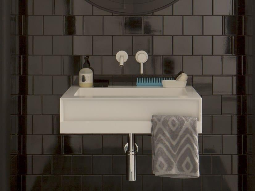 Washbasin with towel rail SAINT TROPEZ   Washbasin by Capo d'Opera