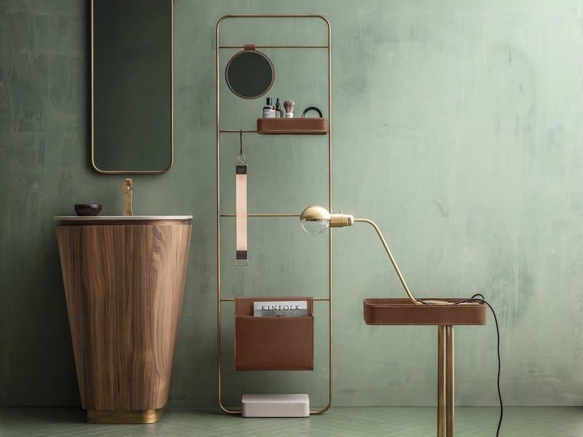Floor-standing vanity unit SUEDE | Floor-standing vanity unit by Cerasa