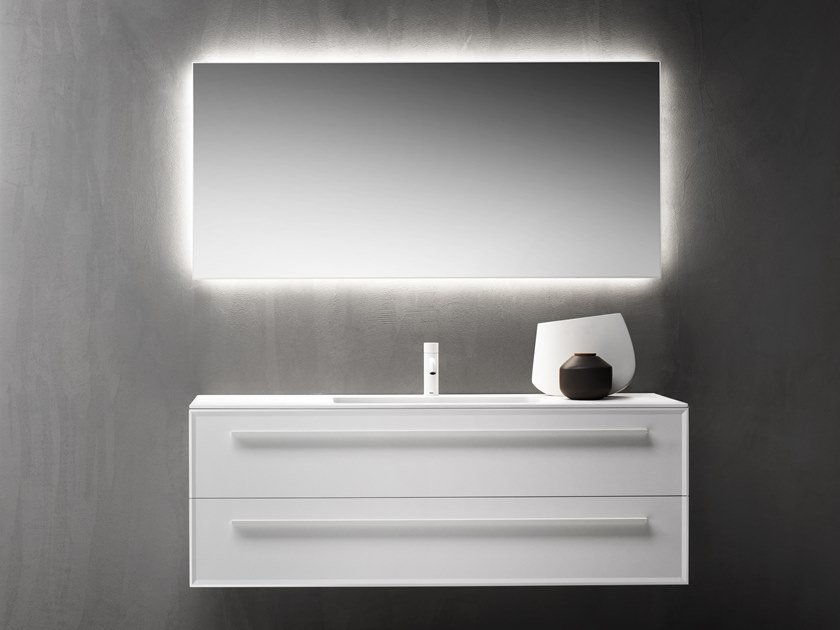 Wall-mounted vanity unit with drawers 7.0 | Vanity unit by FALPER