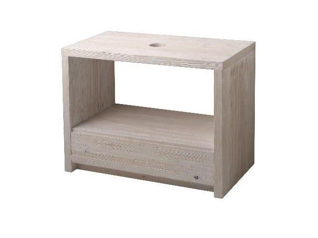 Floor-standing solid wood vanity unit Vanity unit by Horganica