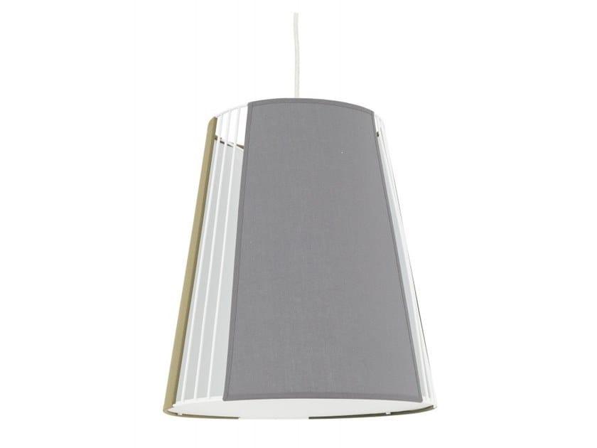 Fabric pendant lamp VANO by Flam & Luce