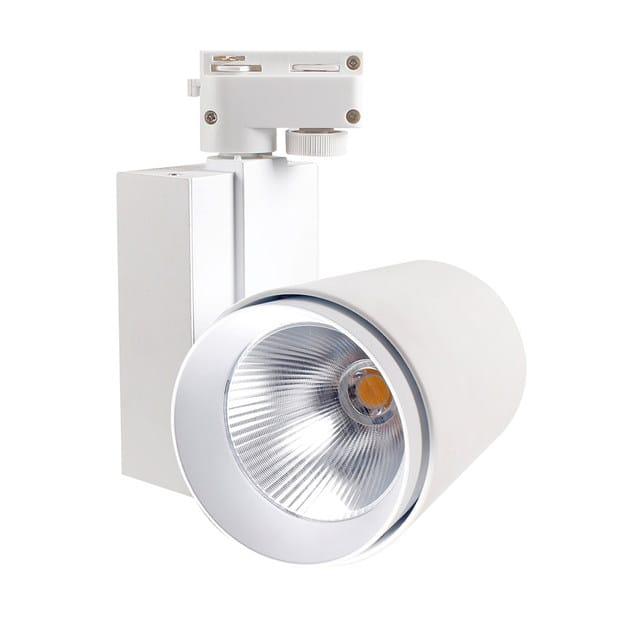 Light Illuminazione Terzo Vara 30w Alluminio A Led In Binario Ok8nw0XP