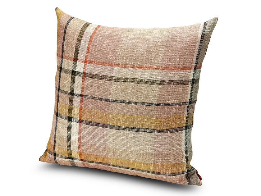 Check jute cushion VARAZZE by MissoniHome
