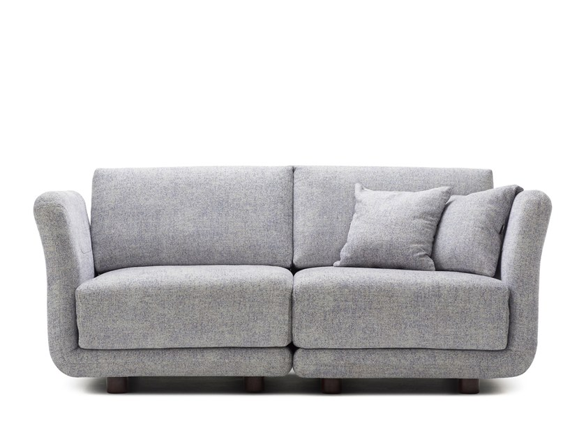 Sectional 2 seater fabric sofa VARIO | 2 seater sofa by Extraform