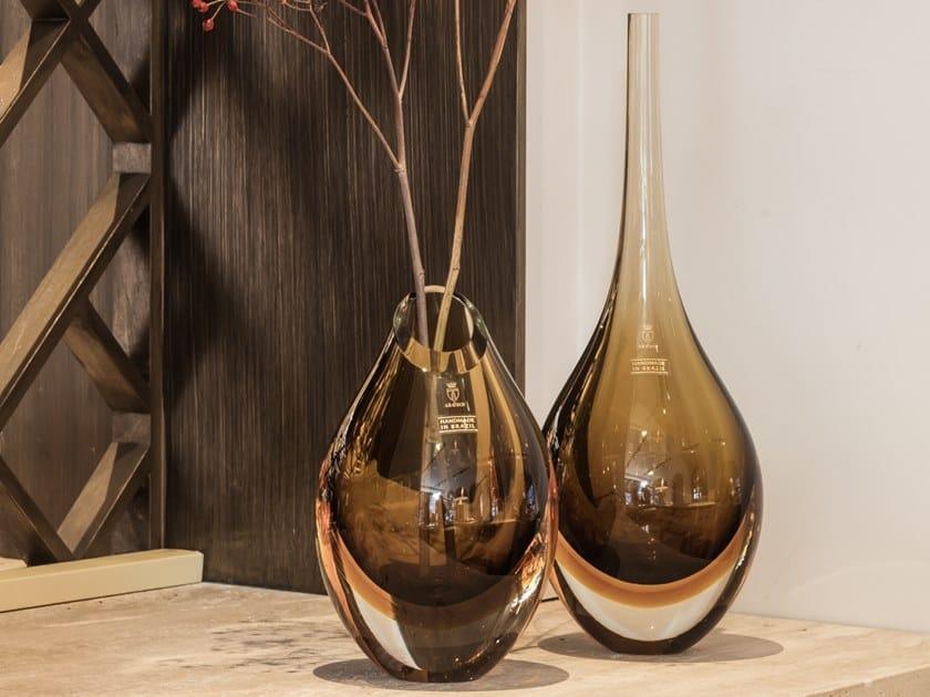 Glass vase VASE DROP by Gardeco