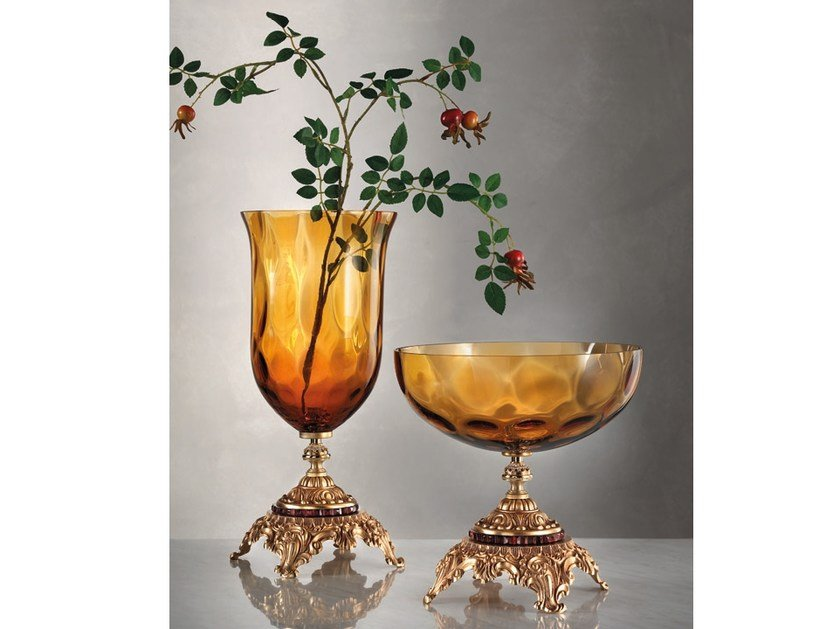 Vaso / centrotavola in vetro ADELE | Vaso by Euroluce Lampadari