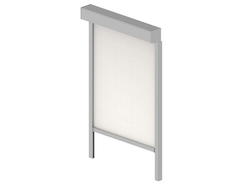 Polyester roller blind with guide system VB 207 (ZIP) | Awning by HELLA